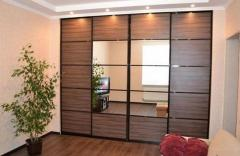 Изготовим шкафы купе, стенки, кухни и другую мебель.