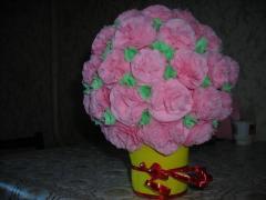 Цветы в подарок ручной работы