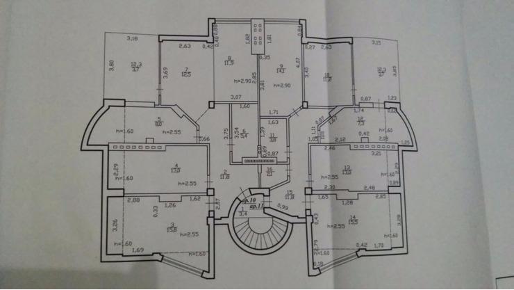 Se vinde apartament cu 3 camere și terasă CENTRU , bloc dat in exploatare - 4