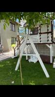 Casuta de lemn pentru copii