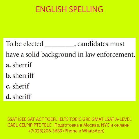 Подготовка к SSAT ISEE SAT ACT TOEFL IELTS TOEIC GRE GMAT LSAT A-LEVEL BEC CAEL CELPIP PTE TELC - 9