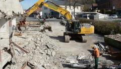 Снос демонтаж разборка строений сооружений конструкций домов зданий
