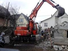 Бельцы Снос демонтаж разборка реконструкция перепланировка любых строений сооружений