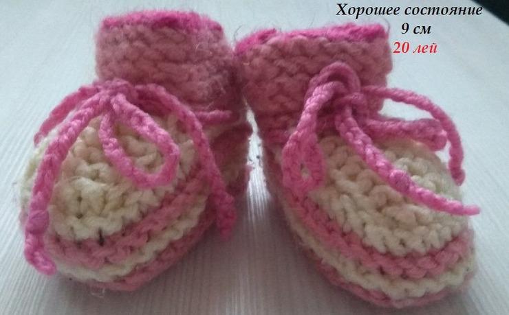 Новые туфли,пинетки для девочки - 4