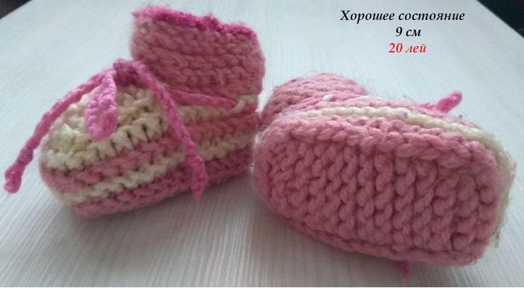 Новые туфли,пинетки для девочки - 5