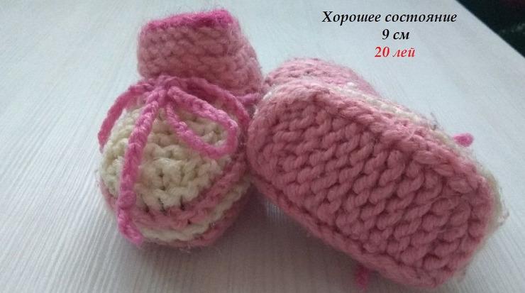 Новые туфли,пинетки для девочки - 6