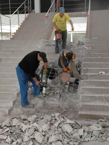 Перепланировка любых помещений усиление проемов стен перегородок конструкции демонтаж бетонной стяжк - 1