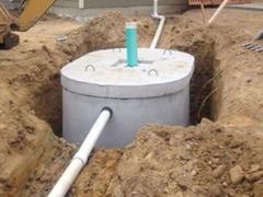 Копаем канализацию,траншеи сливные ямы септики водопровод доставка установка бетонных колец установк