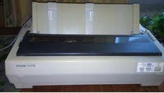 EPSON FX-1170;  HP Laser Jet 6L - Изображение 2