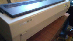 EPSON FX-1170;  HP Laser Jet 6L - Изображение 5