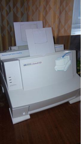 EPSON FX-1170;  HP Laser Jet 6L - 7