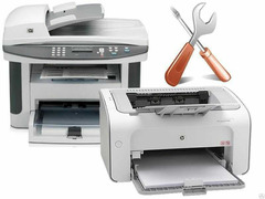 Профессиональный Ремонт принтеров, МФУ, Факсов. Reparația imprimantelor. Заправка картриджей. Выезд