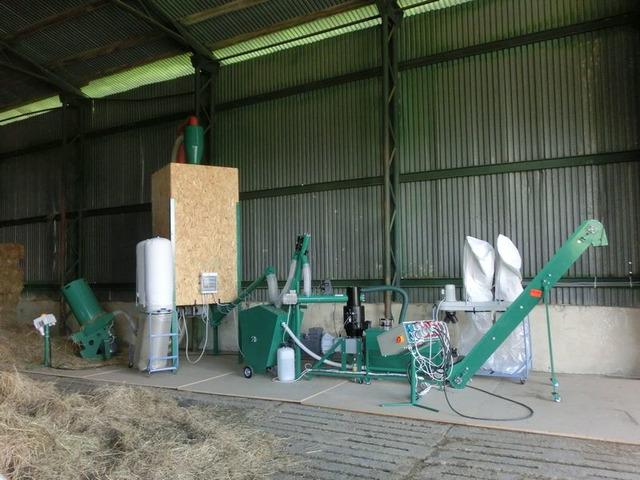 Линии гранулирования  растительной биомассы - 2