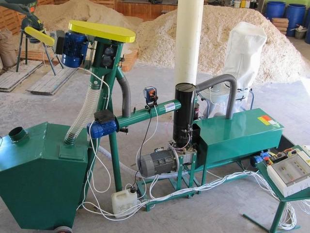 Линии гранулирования  древесных отходов - 1
