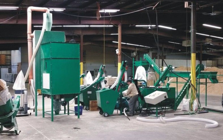 Линии гранулирования  древесных отходов - 2