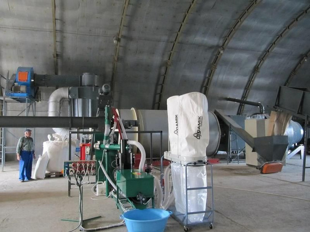 Линии гранулирования  древесных отходов - 4